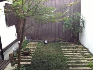 京都宿中庭