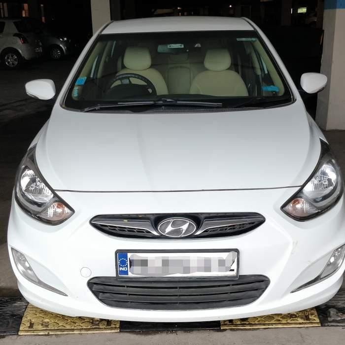 Used Hyundai Verna 1 6 Crdi Sx In Thane 2012 Model India