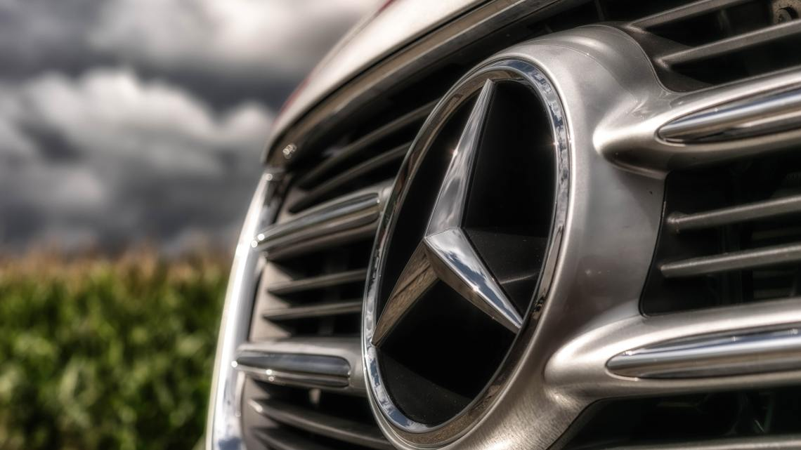 De grille van een auto