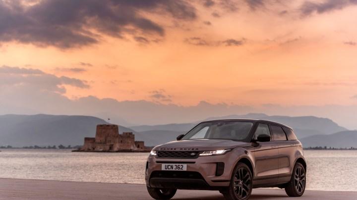 De nieuwe Range Rover Evoque
