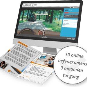 Auto Theorie Rijbewijs B Online Oefenexamens - 10 stuks