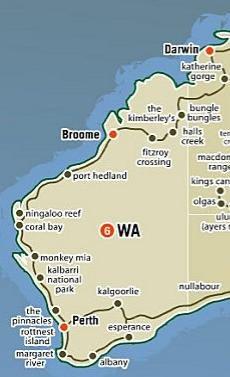 côte ouest australie