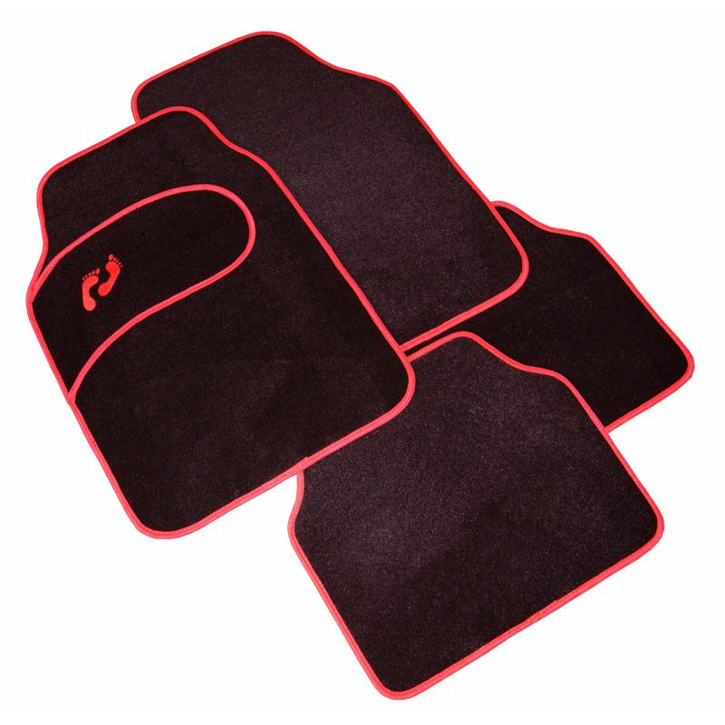 tapis auto original pas cher pied rouge
