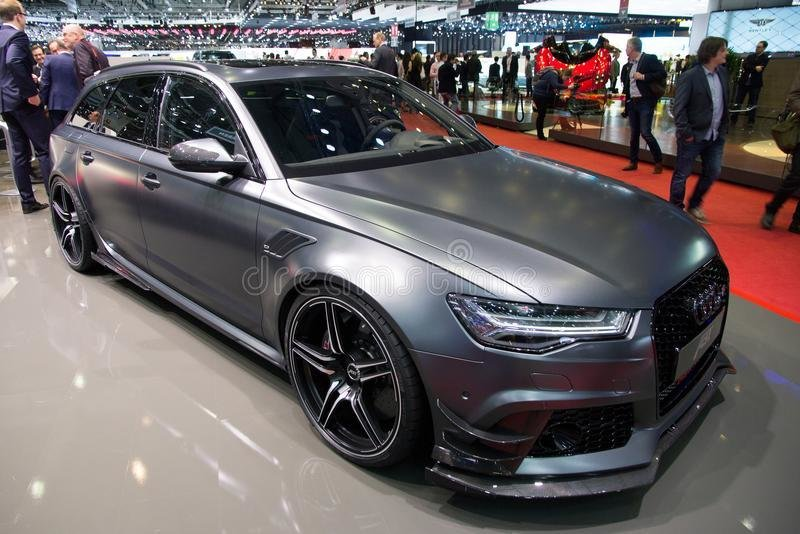 Latest 2015 Abt Sportsline Audi Rs6 R Car Editorial Stock Photo Free Download