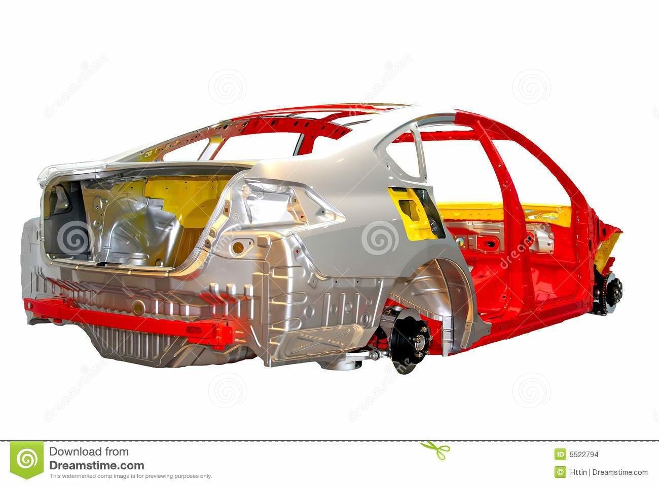 Latest Car Body Frame Stock Photo Image Of Wheel Color Empty Free Download