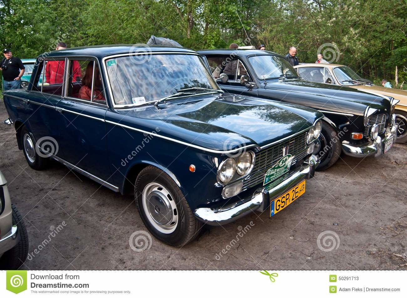 Latest Classic Italian Fiat Car At A Car Show Editorial Stock Free Download
