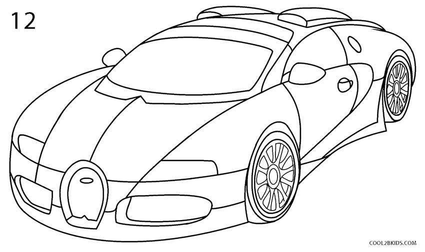 Latest How To Draw A Bugatti Step By Step Pictures Cool2Bkids Free Download Original 1024 x 768