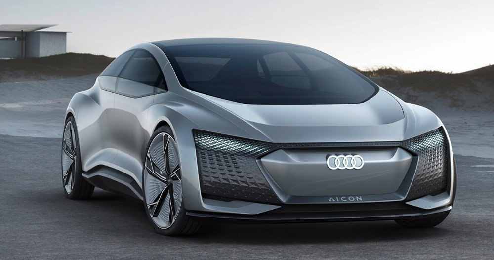 Latest Audi Aicon Concept Car Presented At Frankfurt Motor Show 2017 Free Download