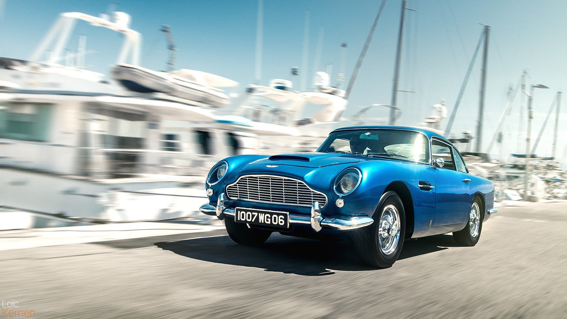 Latest Aston Martin Db5 And The Not So Fake Blur Car Photography Free Download