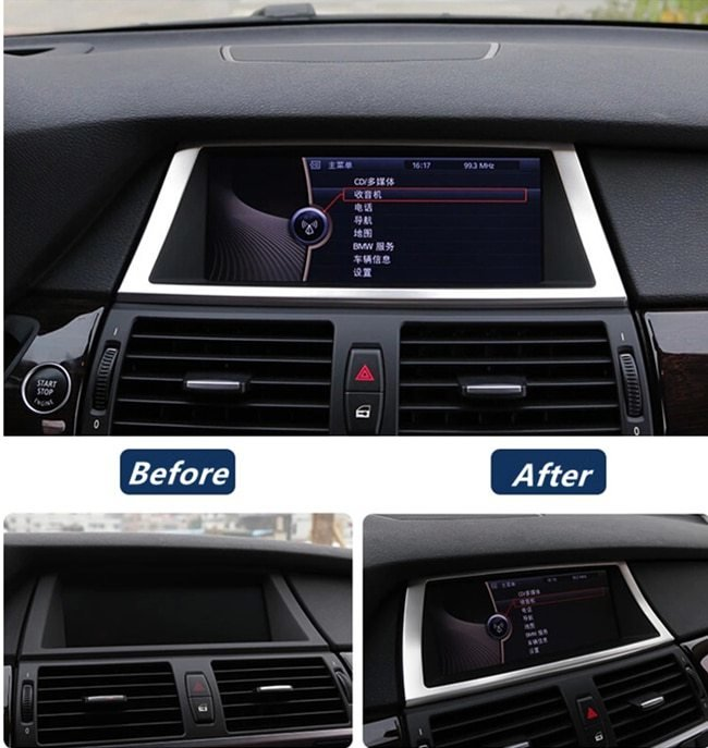 Latest Stainless Steel Navigation Frame Decoration Cover Trim For Free Download