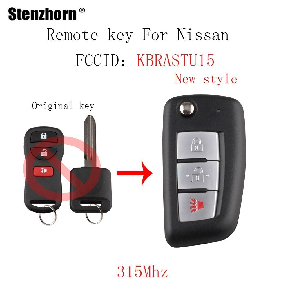 Latest Stenzhorn 3Bt New Style Car Remote Key For Nissan Versa Free Download