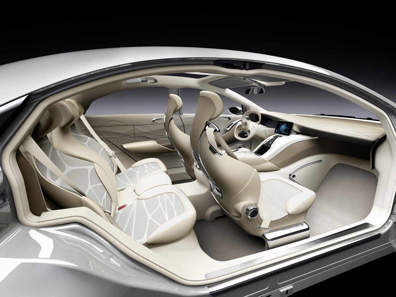Latest Mercedes Benz F800 Style Concept Autostrada Free Download