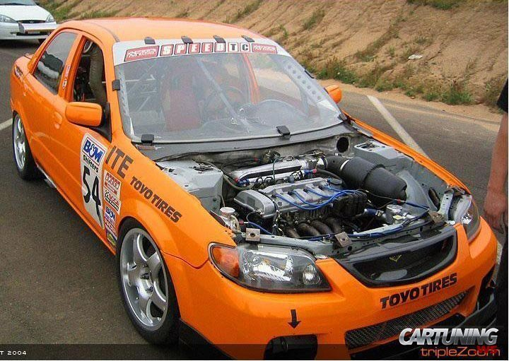 Latest Mazda 323 Race Car » Cartuning Best Car Tuning Photos Free Download