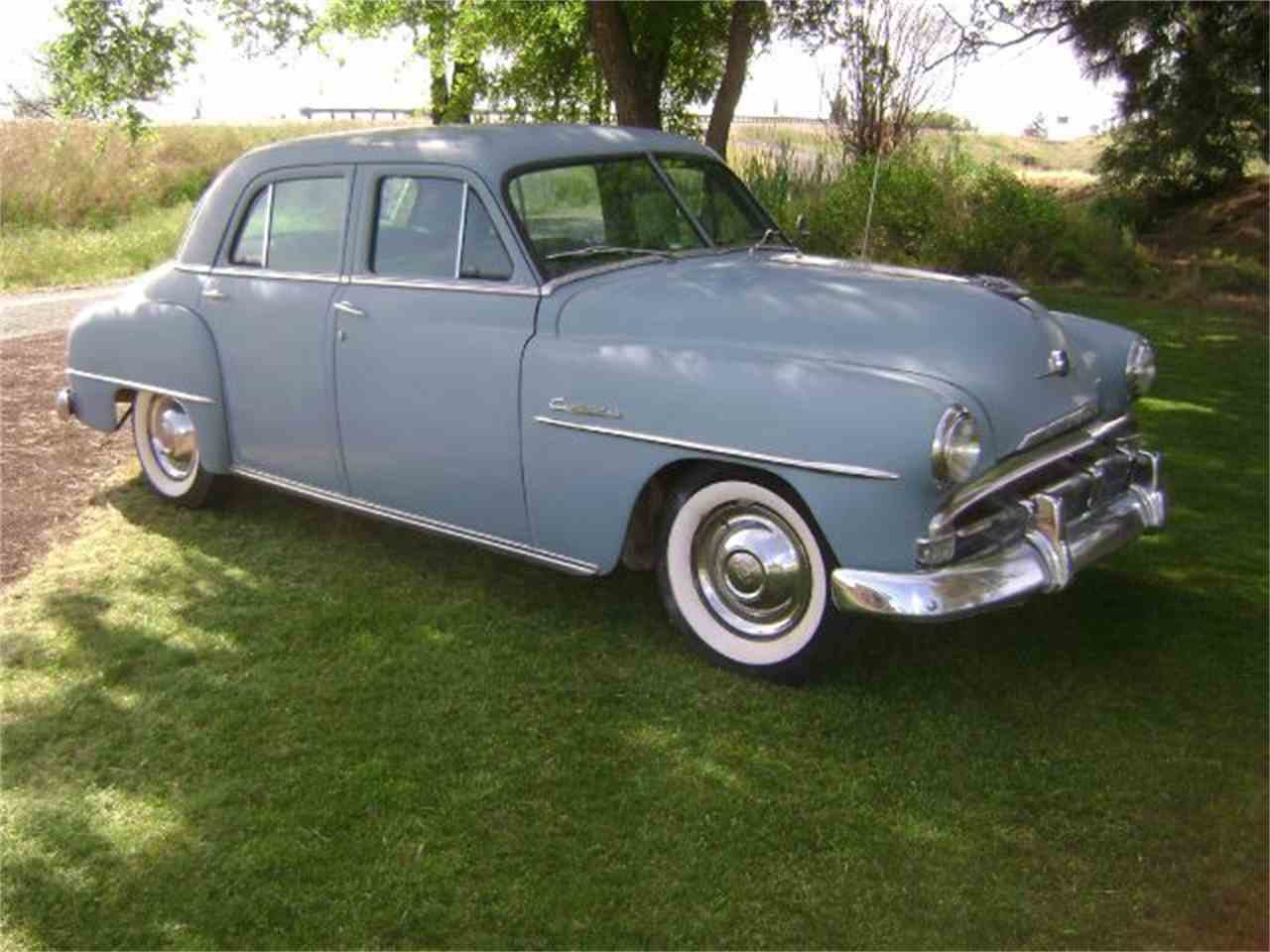 Latest 1952 Plymouth Cambridge For Sale Classiccars Com Cc 680595 Free Download Original 1024 x 768