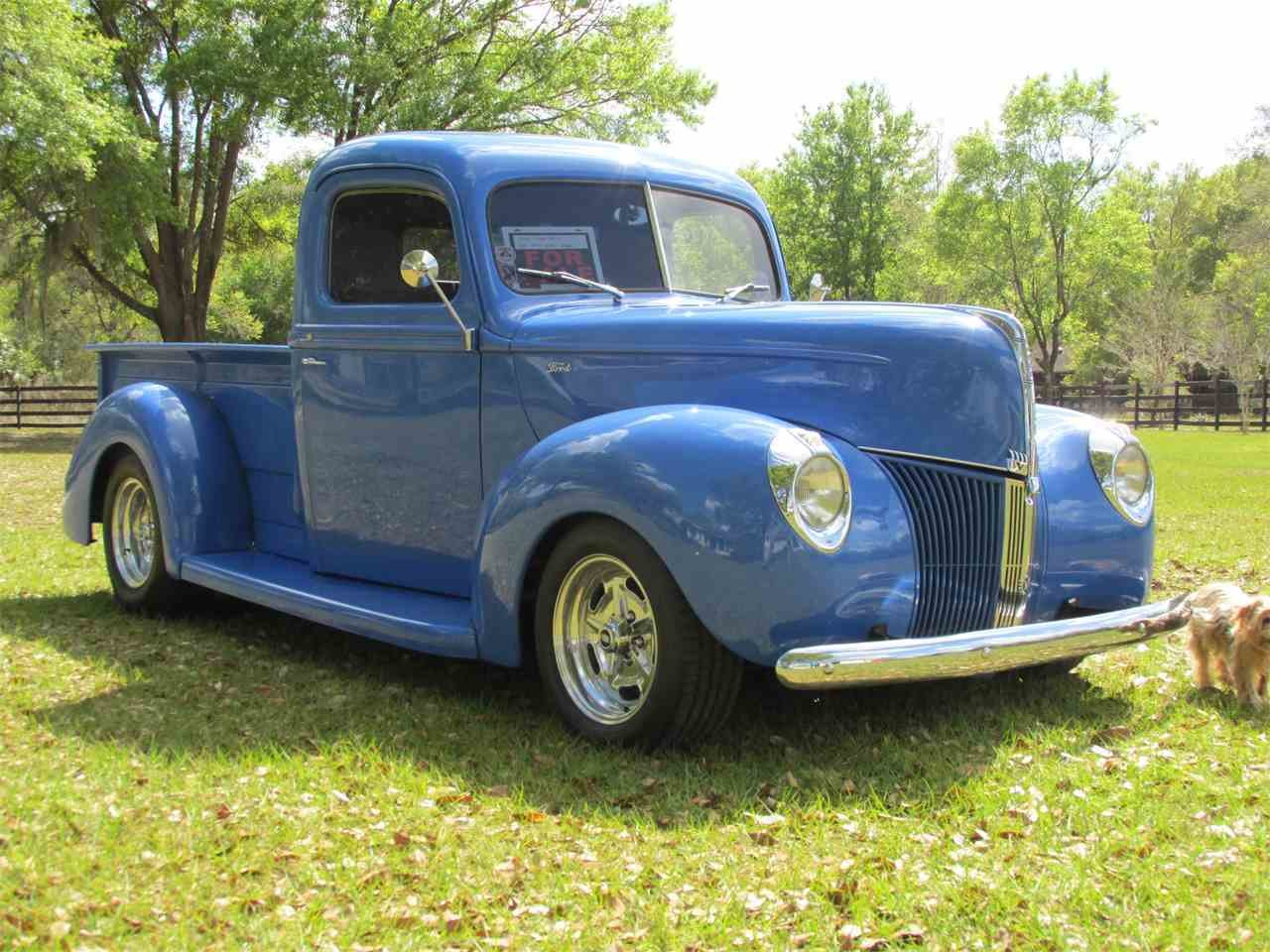 Latest 1940 Ford Pickup For Sale Classiccars Com Cc 964802 Free Download Original 1024 x 768