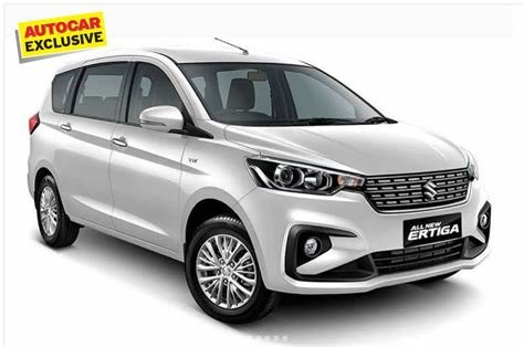 Latest New Maruti Ertiga 2018 Features List Revealed With Engine Free Download