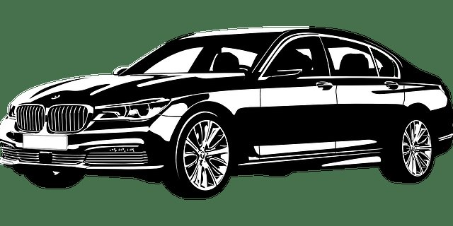 Latest Free Vector Graphic Bmw Seventh Series New Vip Car Free Download