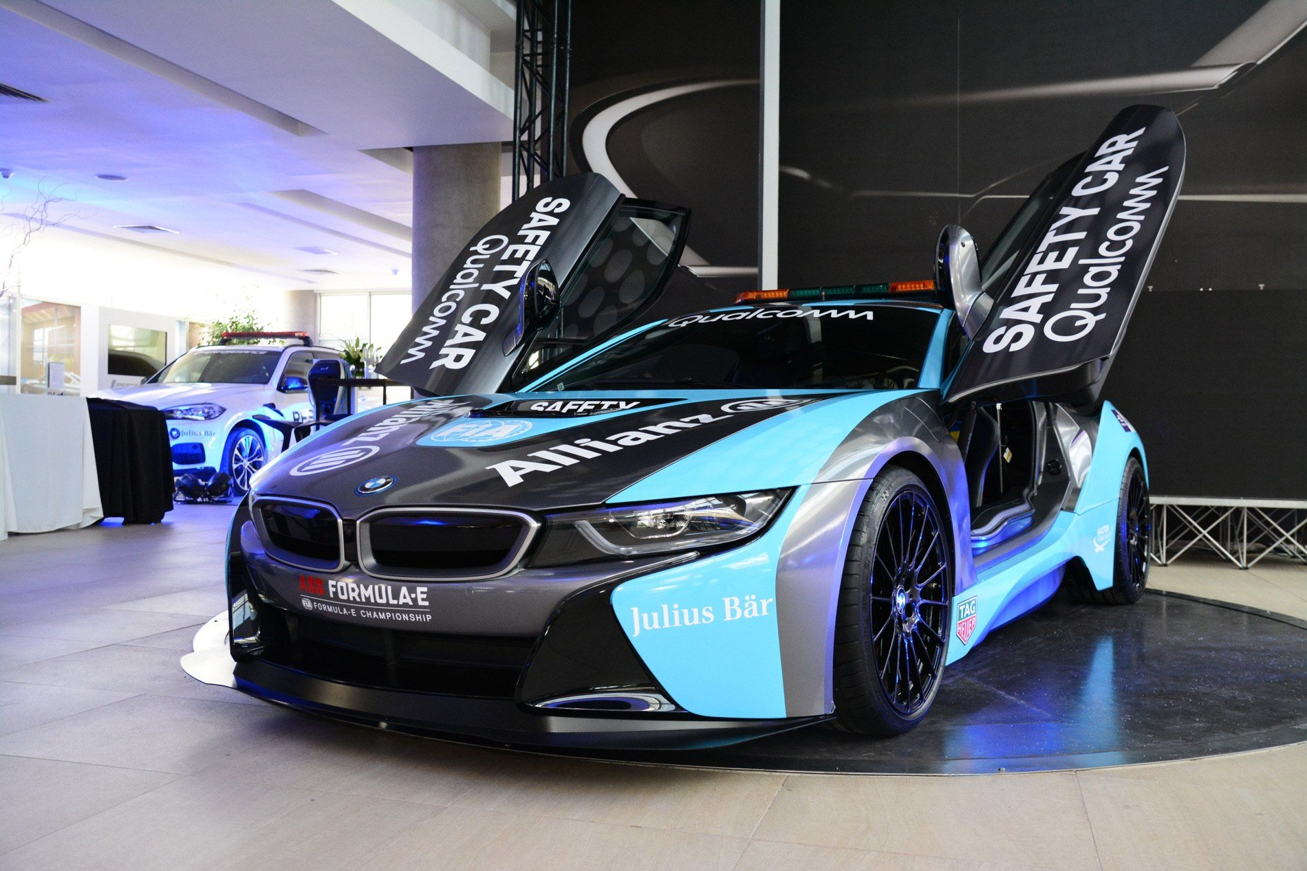 Latest The Qualcomm Safety Car Bmw I8 Coupe Gets A Facelift Free Download