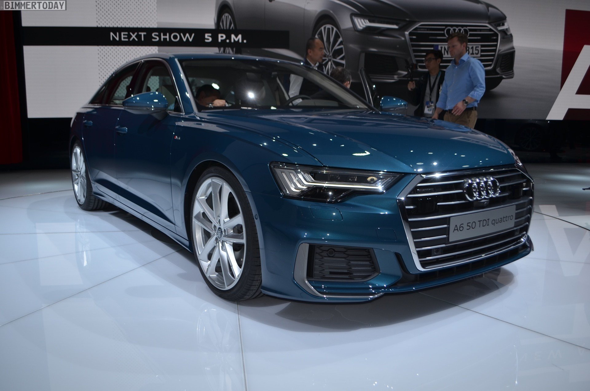 Latest 2018 Geneva Motor Show Live Photos Of The New Audi A6 Free Download