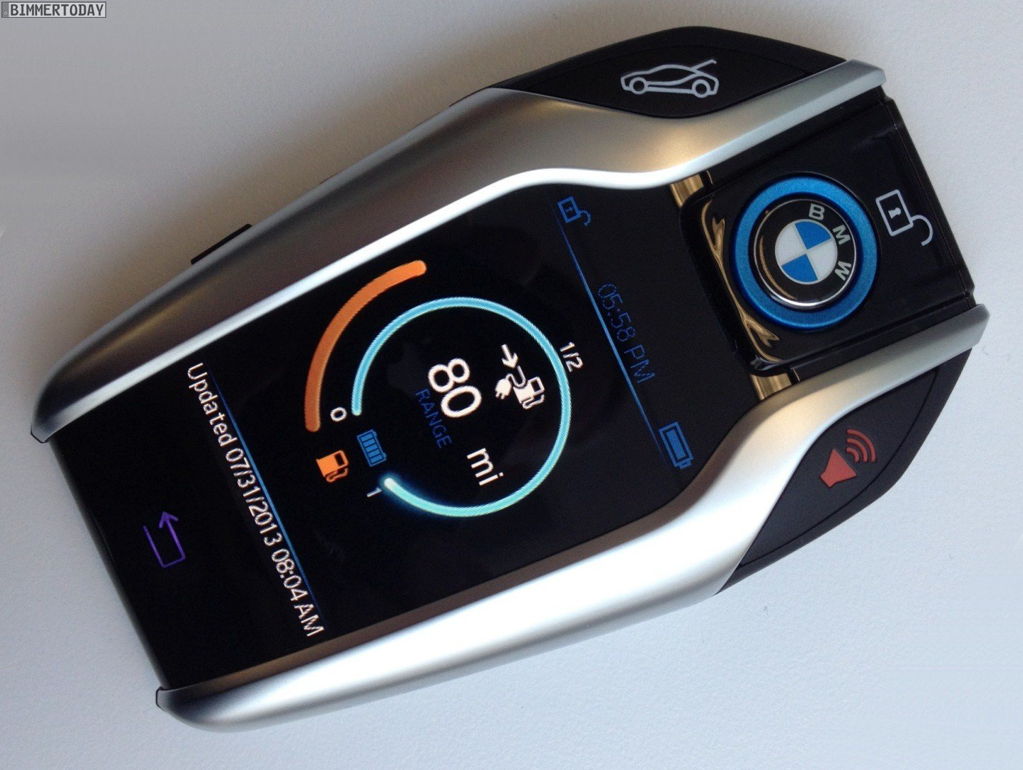 Latest 2016 Bmw 7 Series Will Get The Cool Keyfob Previewed By The I8 Free Download