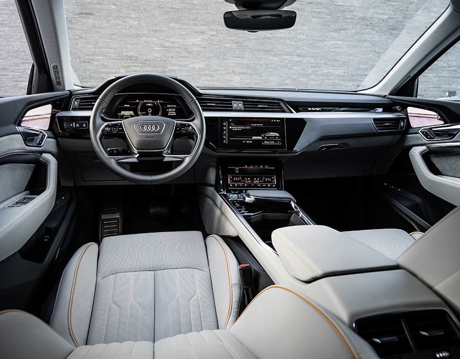 Latest Audi E Tron Electric Interior Has Been Revealed In A New Free Download