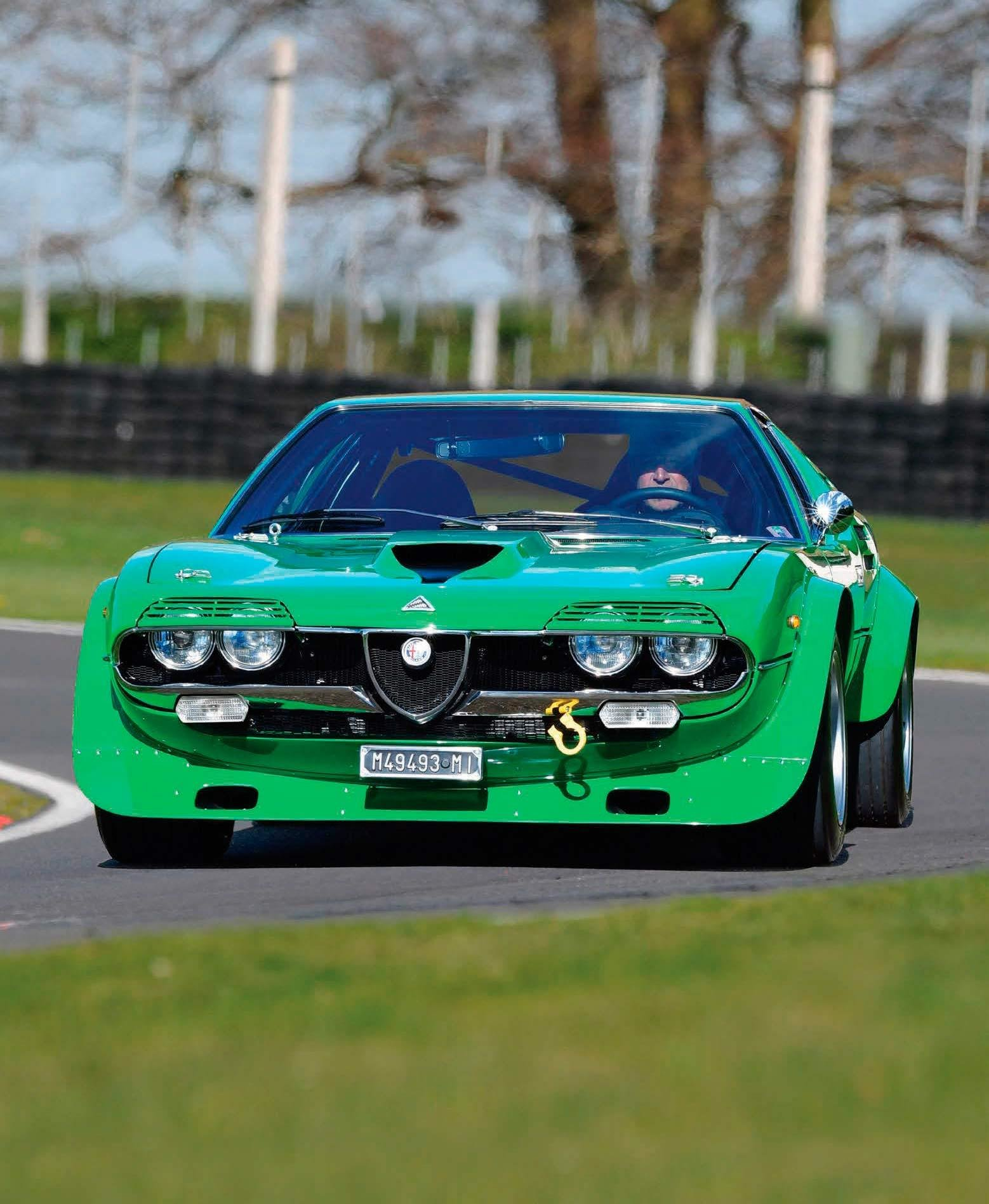 Latest 1973 Alfa Romeo Montreal Group 4 Race Car Track Road Free Download