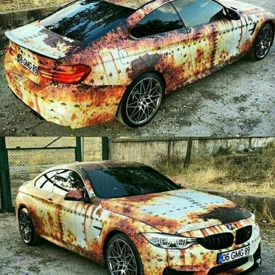 Latest Bmw Vinyl Wrap Rust Autoträume Cars Bmw Cars И Motor Car Free Download