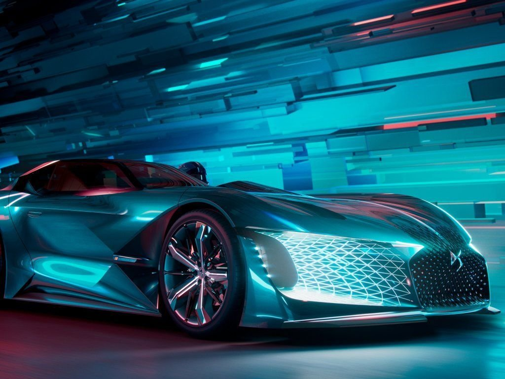 Latest Ds X E Tense Concept Side View Wallpaper Cars Free Download
