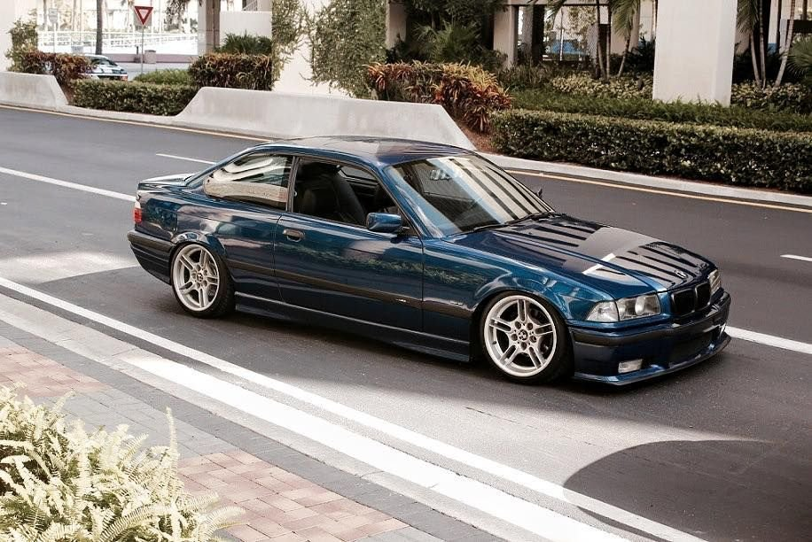 Latest Avus Blue Bmw E36 Coupe On Oem Bmw Styling 66 Wheels Bmw E36 Free Download
