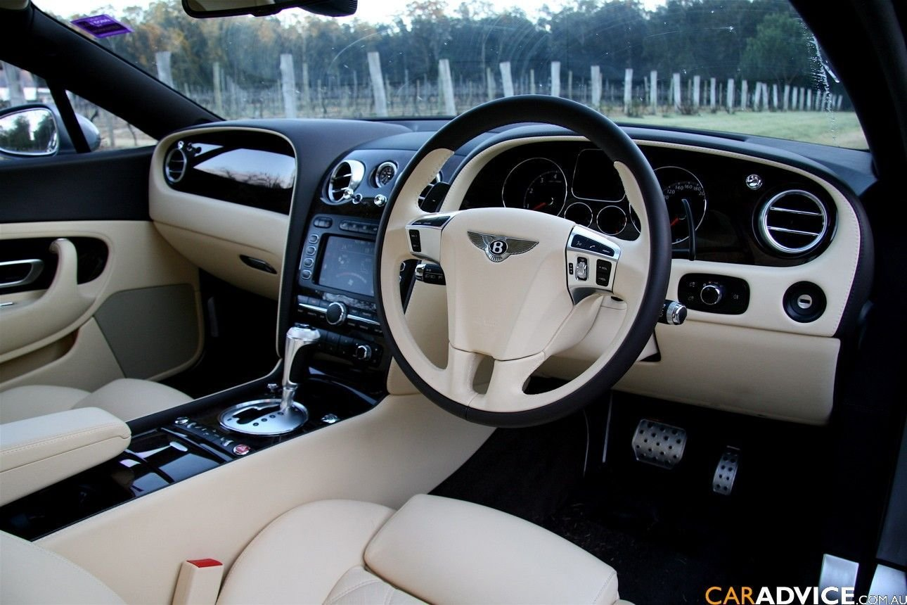 Latest Bentley Continental Gt Speed White Interior Cabin Cars Free Download