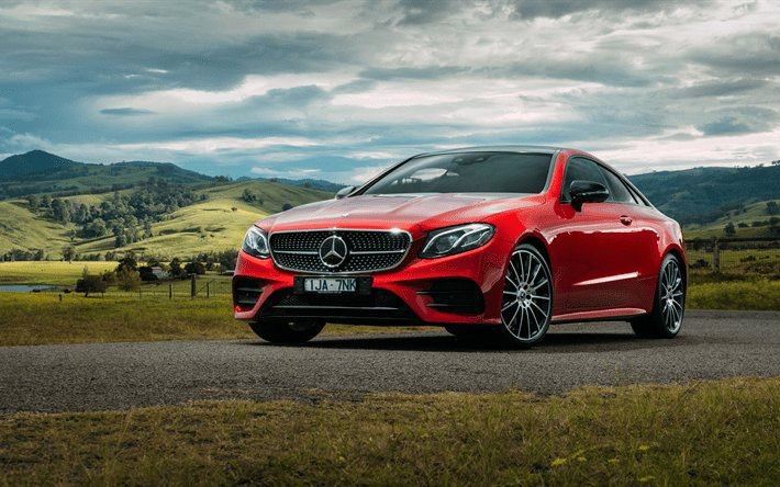 Latest Download Wallpapers Mercedes Benz E Class Coupe 4K 2017 Free Download