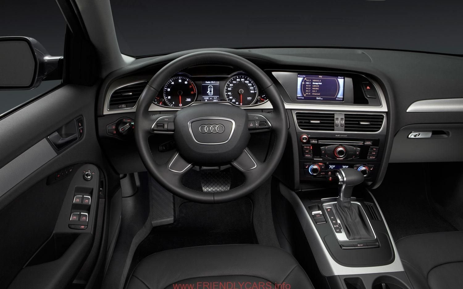 Latest Cool 2007 Audi A4 Interior Car Images Hd 2014 Audi A4 New Free Download