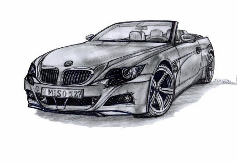 Latest Bmw Design Drawing By Artsoni On Deviantart Free Download