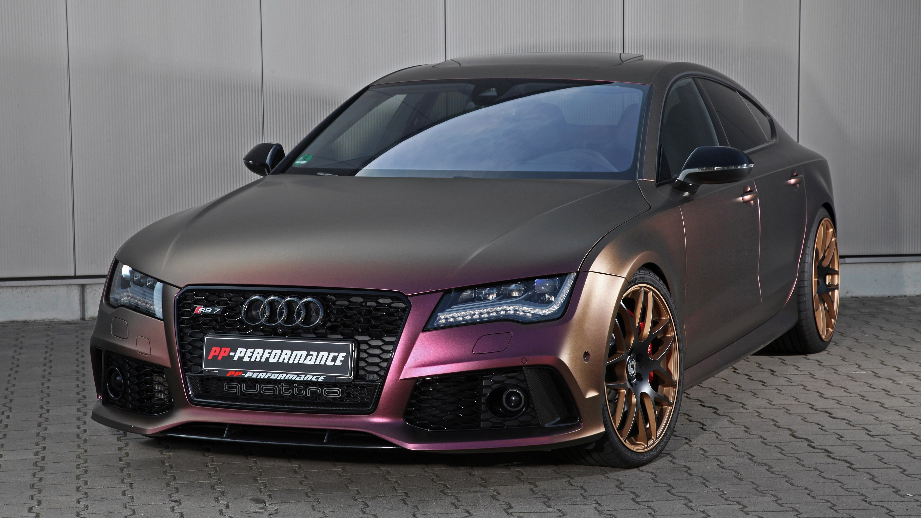 Latest 2016 Audi Rs7 By Pp Performance Top Speed Free Download