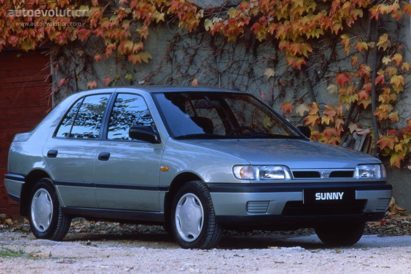 Latest Nissan Sunny Hatchback Specs Photos 1993 1994 1995 Free Download