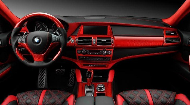 Latest Crazy Interior For Bmw X6 From Topcar Autoevolution Free Download