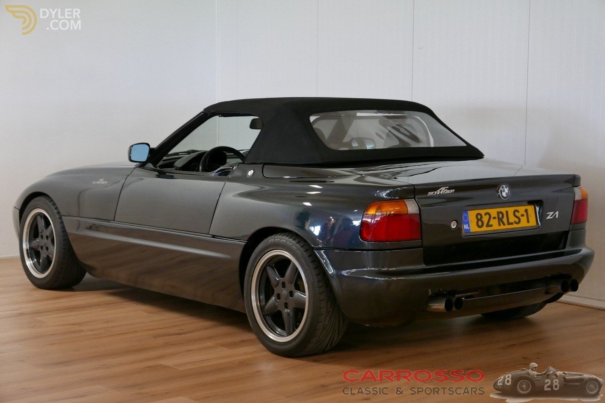 Latest Classic 1991 Bmw Z1 Ac Schnitzer Cabriolet Roadster For Free Download