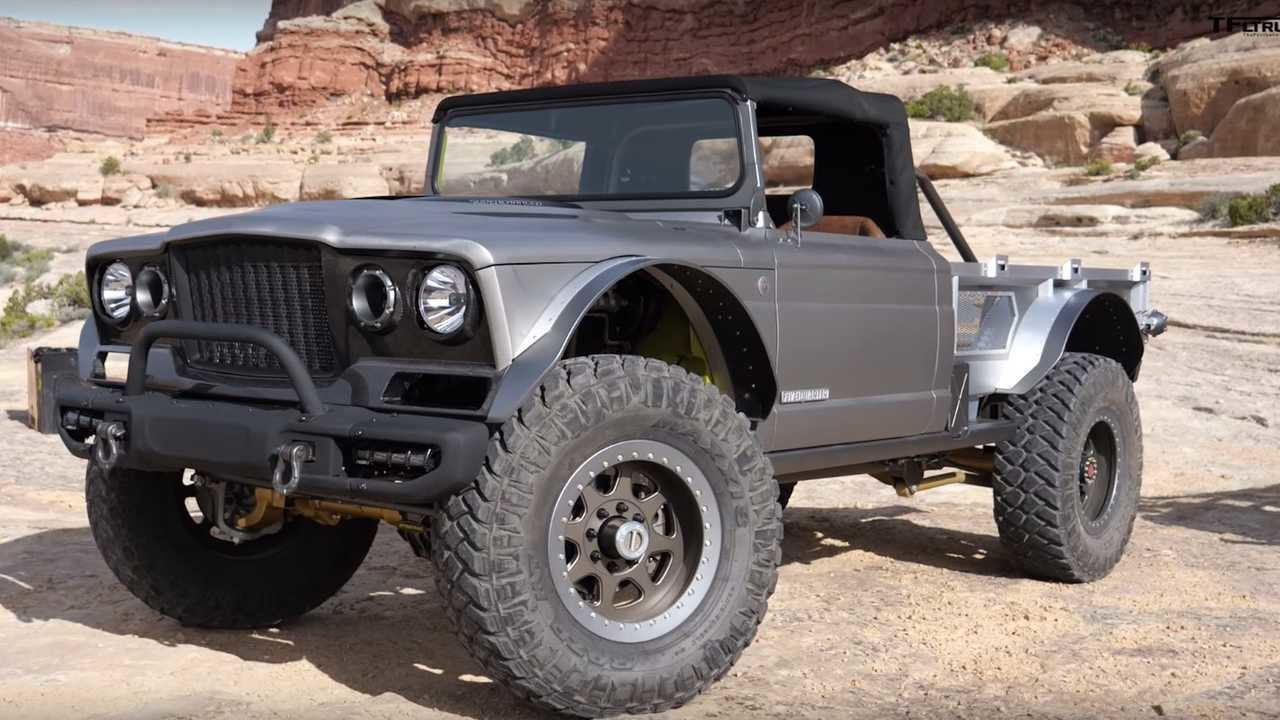 Latest Supercharged 700 Hp Jeep Gladiator Concept Detailed On Video Free Download