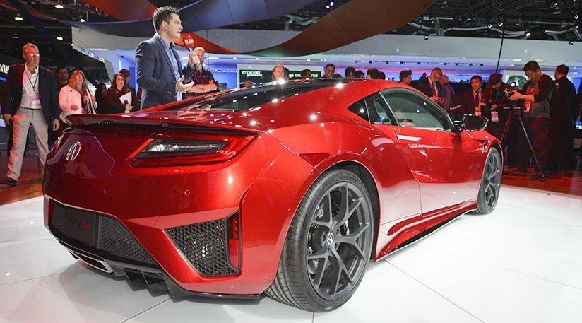 Latest Honda Nsx 2016 Acura S Hybrid Sports Car At Detroit Free Download