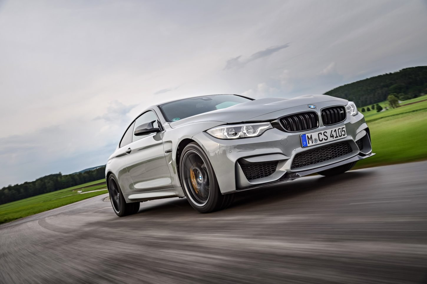 Latest 2018 Bmw M4 Cs Side Hd Photo Car Preview And Rumors Free Download