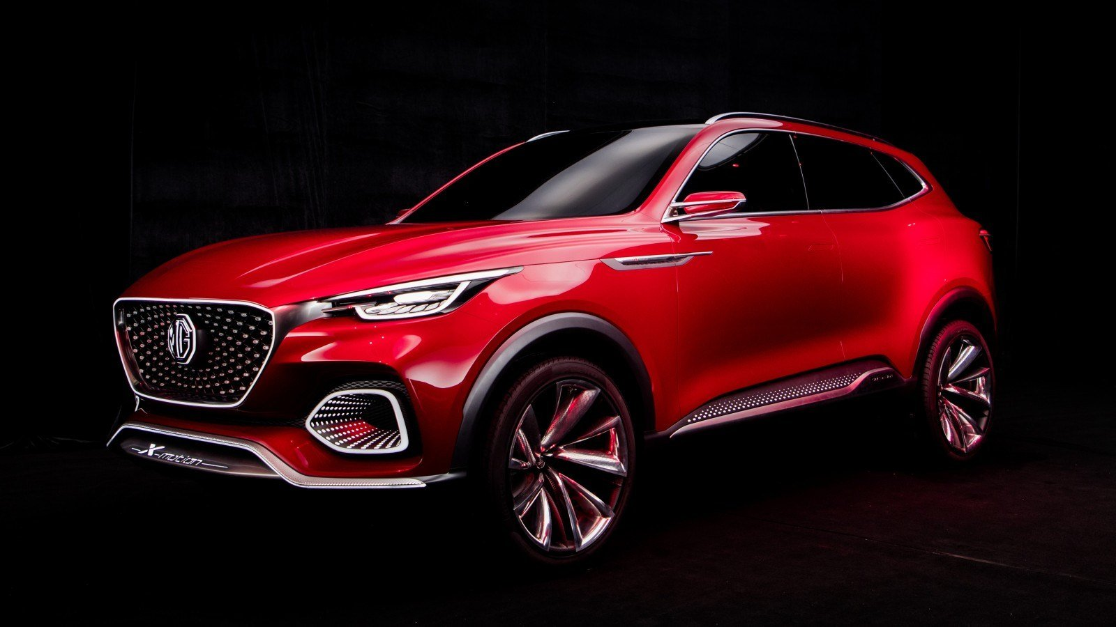 Latest 2018 Mg X Motion Suv Concept 4K Wallpaper Hd Car Free Download