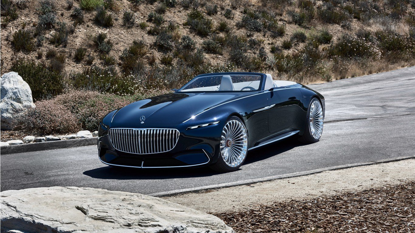 Latest 2018 Vision Mercedes Maybach 6 Cabriolet 7 Wallpaper Hd Free Download
