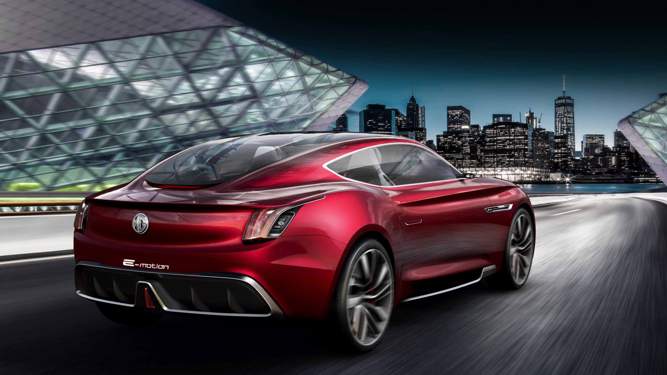 Latest Mg E Motion Concept Car 4 Wallpaper Hd Car Wallpapers Free Download