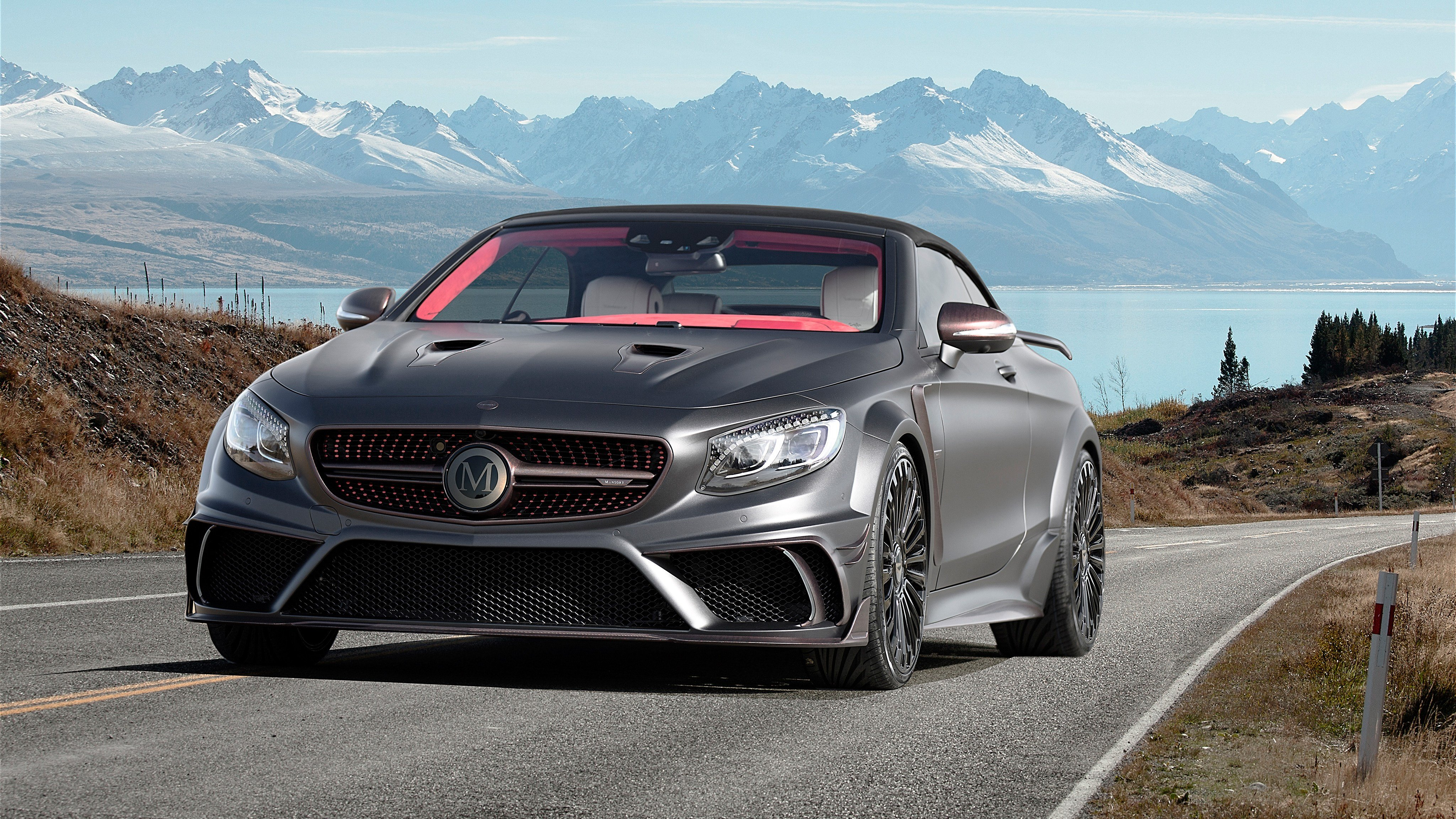 Latest Mansory Mercedes Benz S63 Amg Cabriolet Black Edition 4K Free Download