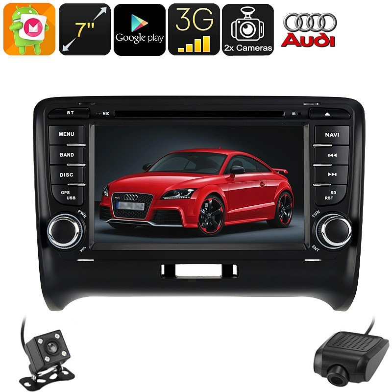 Latest 7 Inch Hd 2 Din Android Car Dvd Player For Audi Tt Car Free Download
