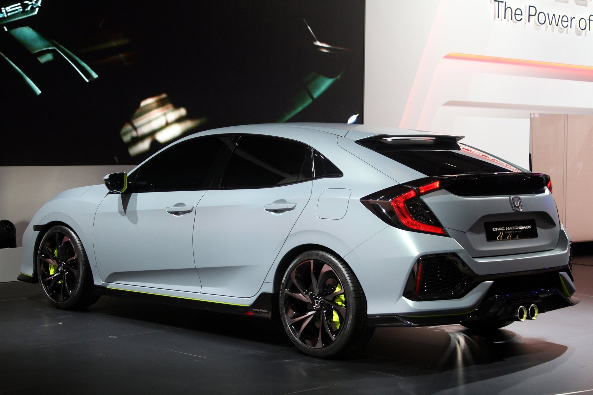 Latest Official Civic Hatchback Prototype Unveiled 2016 Free Download