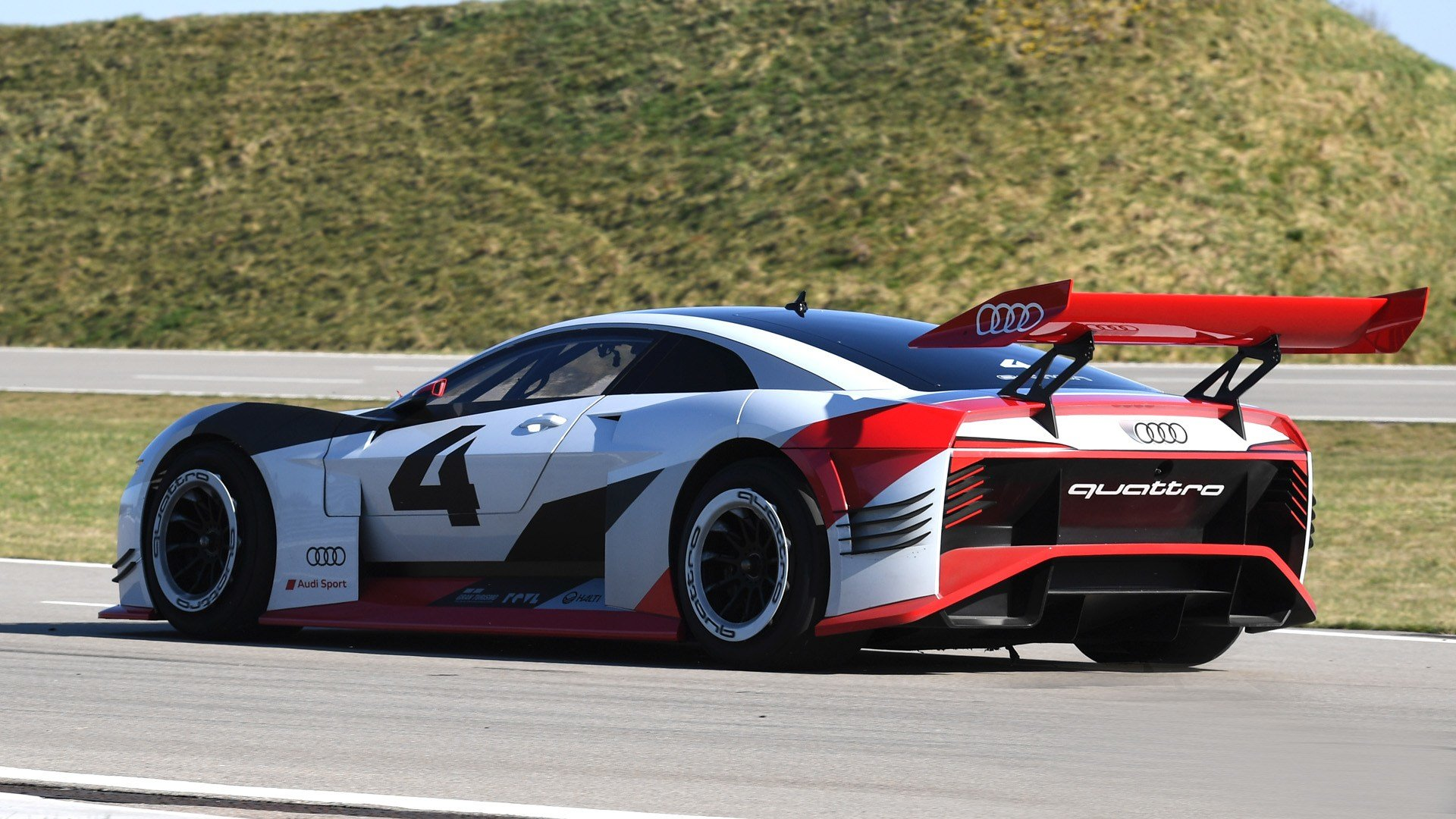 Latest Audi Introduces Two New Vision Gran Turismo Cars Free Download