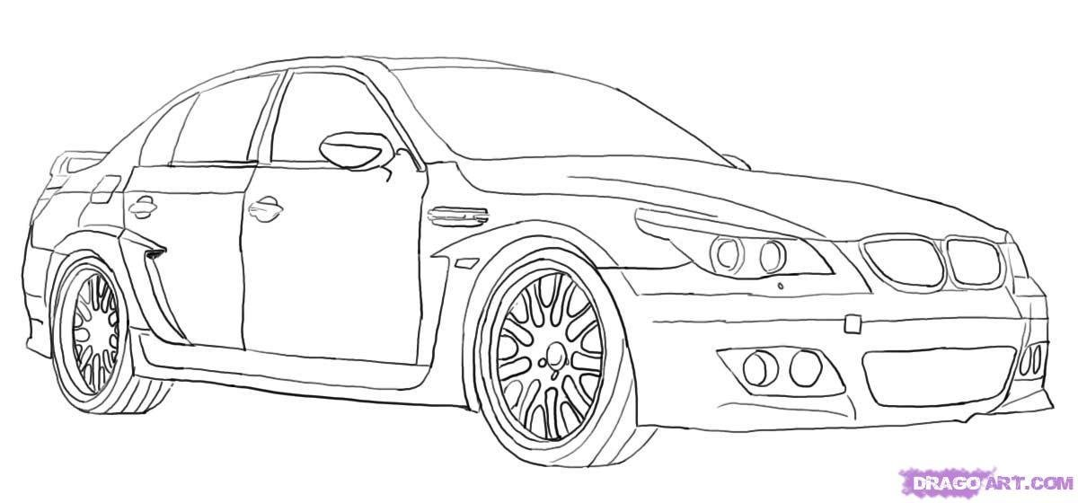 Latest How To Draw A Bmw Step By Step Cars Draw Cars Online Free Download