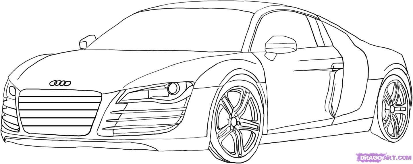 Latest How To Draw An Audi Step By Step Cars Draw Cars Online Free Download