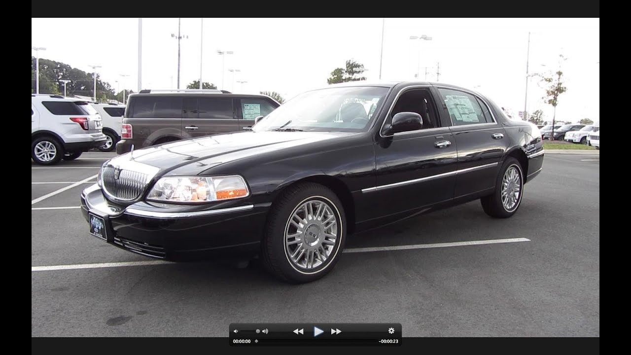 Latest 2011 Lincoln Town Car Signature Limited Start Up Exhaust Free Download Original 1024 x 768